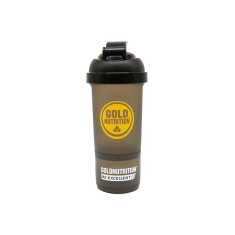 Gold Nutrition Shaker Black